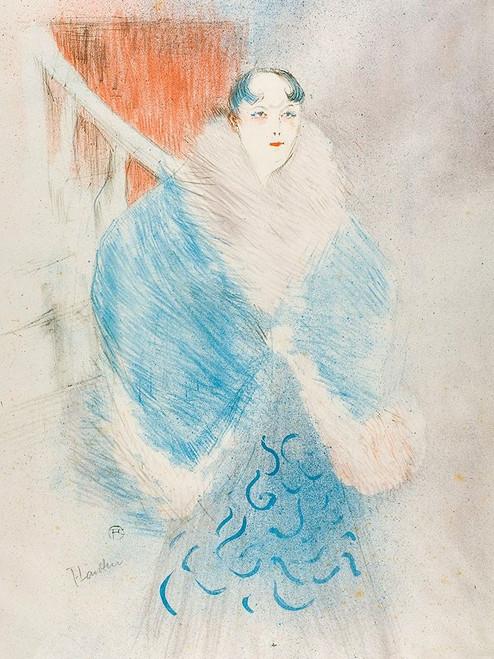 Elsa, called The Viennese Poster Print by Henri de Toulouse-Lautrec # 56381