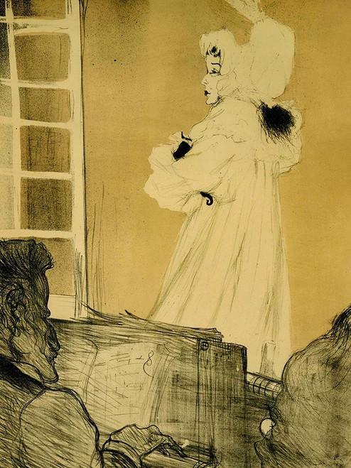 Miss May Belfort Poster Print by Henri de Toulouse-Lautrec # 56298