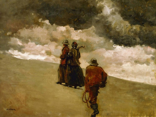 To the Rescue Poster Print by Winslow Homer # 56235