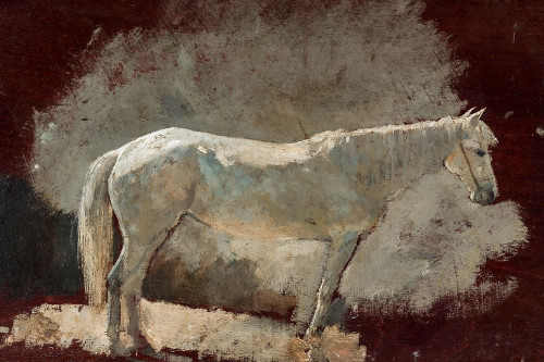White Mare Poster Print by Winslow Homer # 56150