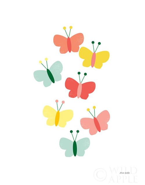 Butterfly Friends Poster Print by Ann Kelle # 55584