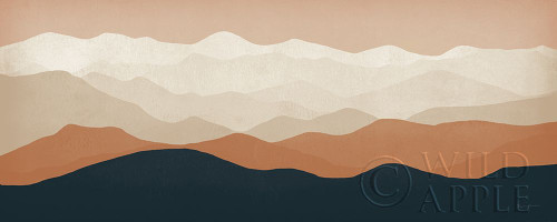 Terra Cotta Sky Mountains Poster Print by Ryan Fowler # 55571