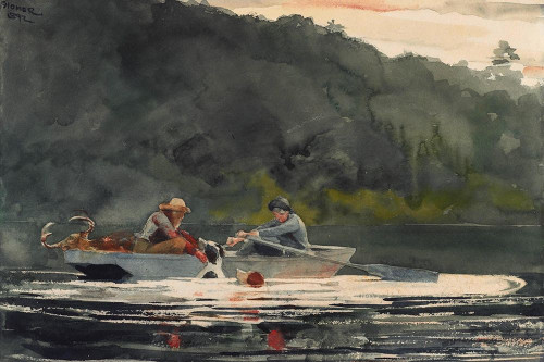 The End of the Hunt Poster Print by Winslow Homer # 56195
