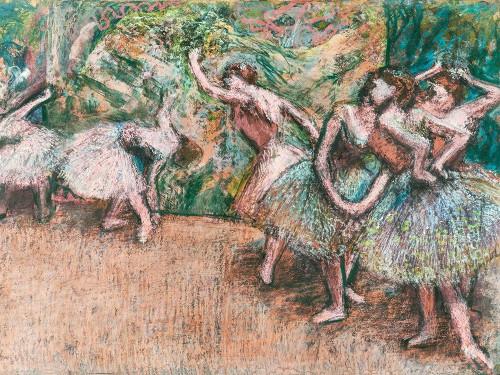 Ballet Scene Poster Print by Edgar Degas # 55457