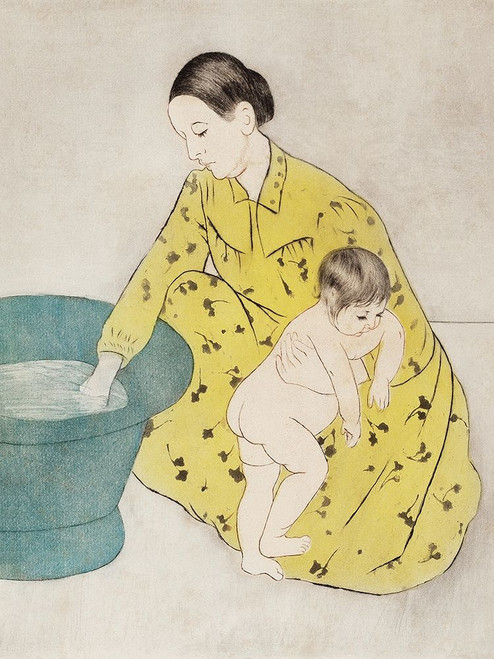 The Bath Poster Print by Mary Cassatt # 55401