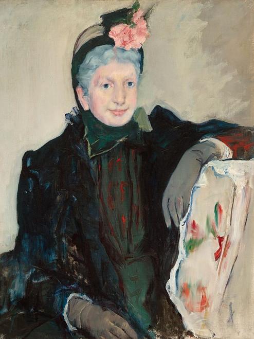 Portrait of an Elderly Lady Poster Print by Mary Cassatt # 55388