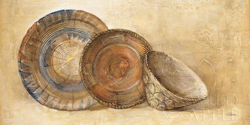Woven Vessels I Navy Crop Poster Print by Albena Hristova # 55340