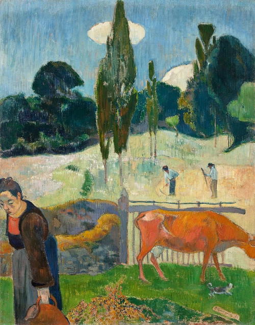 The Red Cow Poster Print by Paul Gaugin # 54466