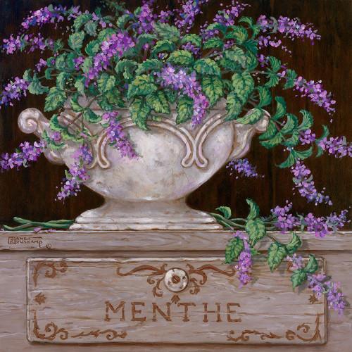 Paquet de Menthe Poster Print by Janet Kruskamp # 54246
