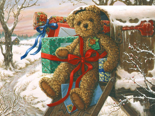 Special Delivery Poster Print by Janet Kruskamp # 54110