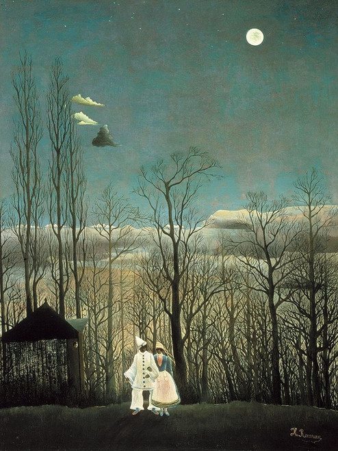 Carnival Evening Poster Print by Henri Rousseau # 54854