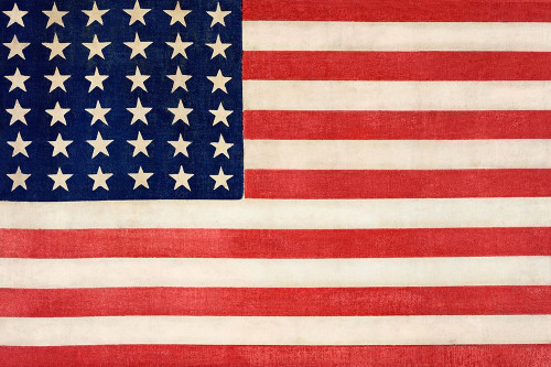 The Thirty-Six Star Flag of the United States of America Poster Print by Library of Congress Library of Congress # 54769