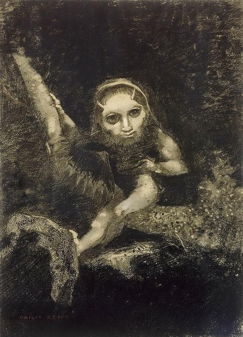 Caliban, 1881 Poster Print by Odilon Redon # 54613