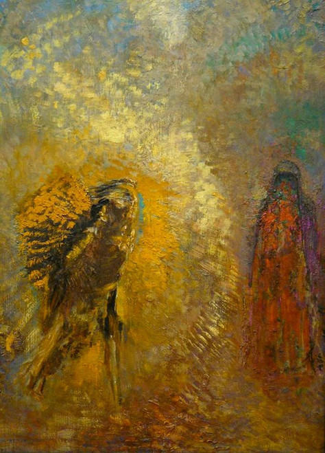 Apparition Poster Print by Odilon Redon # 54612