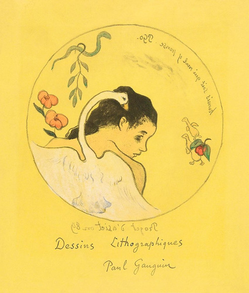 Projet d_�_assiette, frontispiece from the Volpini Suite Poster Print by Paul Gaugin # 54567