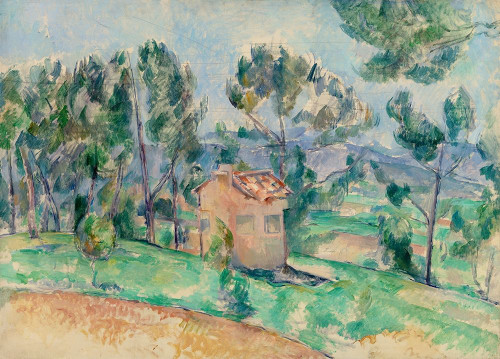 Hunting Cabin in Provence Poster Print by Paul Cezanne # 53926