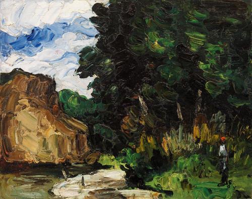 River Bend Poster Print by Paul Cezanne # 53875