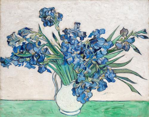Irises Poster Print by Vincent Van Gogh # 53751
