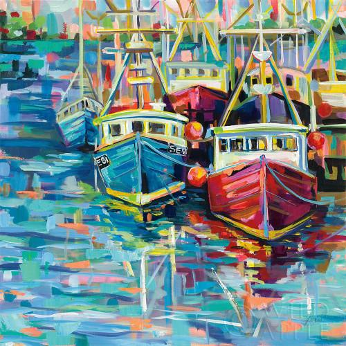Stonington Docks Poster Print by Jeanette Vertentes # 53173