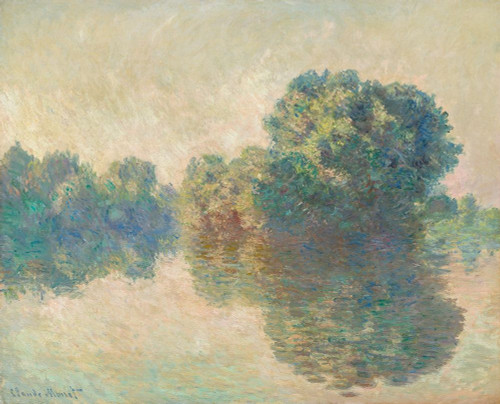 The Seine at Giverny Poster Print by Claude Monet # 53112
