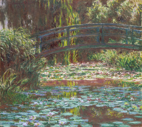 Water Lily Pond Poster Print by Claude Monet # 53072