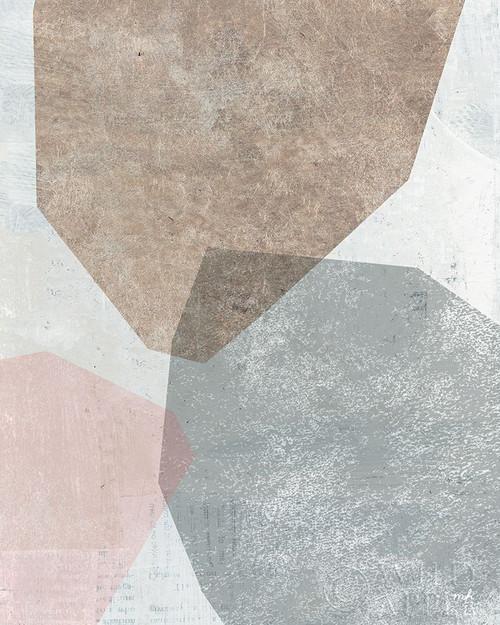 Pensive I Blush Gray Poster Print by Moira Hershey # 52865