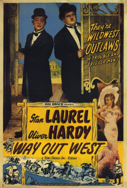 Way Out West Movie Poster Print (27 x 40) - Item # MOVAH9715