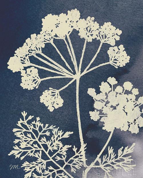 Dark Blue Sky Garden II Poster Print by Studio Mousseau Studio Mousseau # 52869