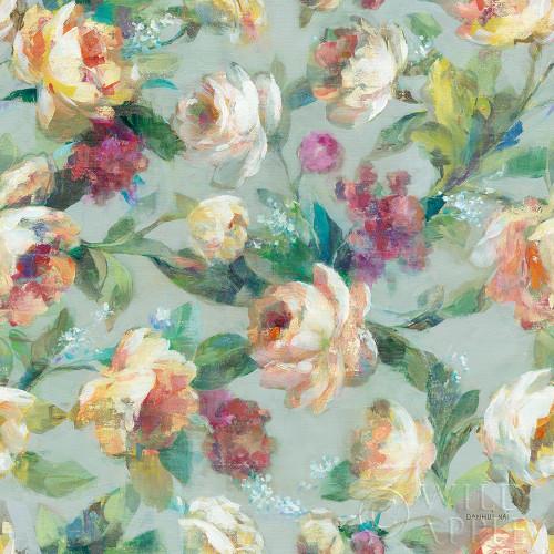 Summer Garden Pattern I Poster Print by Danhui Nai # 52724