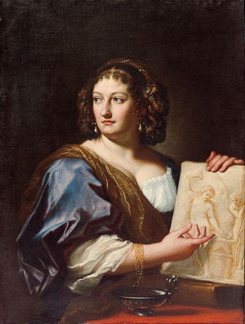 Portrait of Francesca Gommi Maratti Poster Print by Carlo Maratti # 50689