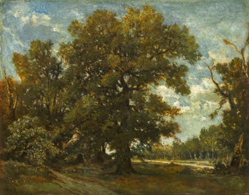 The Oak Tree Poster Print by Theodore Rousseau # 50515