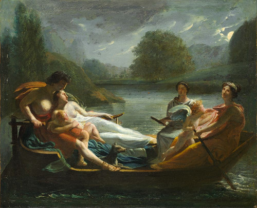The Dream of Happiness Poster Print by After Pierre-Paul Prud''hon # 50576
