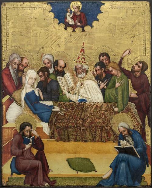 Death of the Virgin Poster Print by Master of Heiligenkreuz # 50608