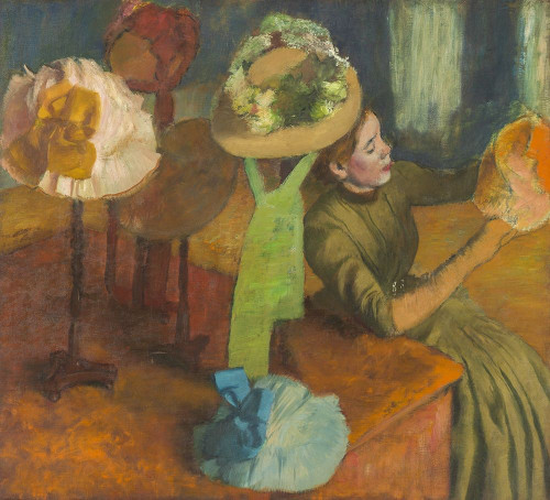 The Millinery Shop Poster Print by Edgar Degas # 50731