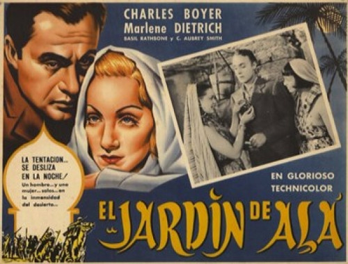 The Garden of Allah Movie Poster (17 x 11) - Item # MOV235892