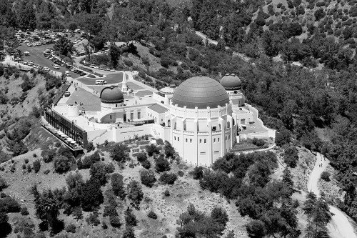 Griffith Observatory in Los Angeles California Poster Print by Carol Highsmith # 50098