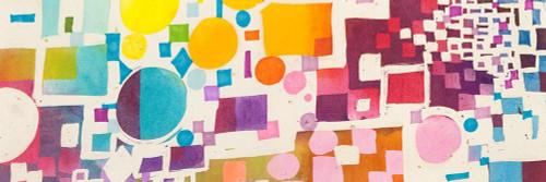 Multicolor Pattern VII Poster Print by Leonardo Bacci # 4BA5460