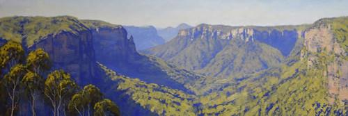 Grosse Valley Poster Print by Graham Gercken # 4GEKE212