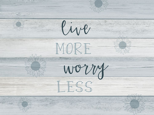 Live More Poster Print by CAD Designs CAD Designs # 43649