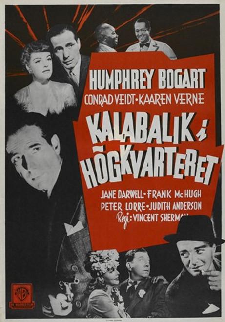 All Through the Night Movie Poster (11 x 17) - Item # MOV415012