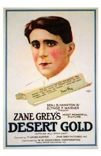 Desert Gold Movie Poster (11 x 17) - Item # MOV196732