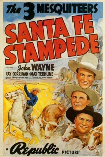 Santa Fe Stampede Movie Poster (11 x 17) - Item # MOV258422