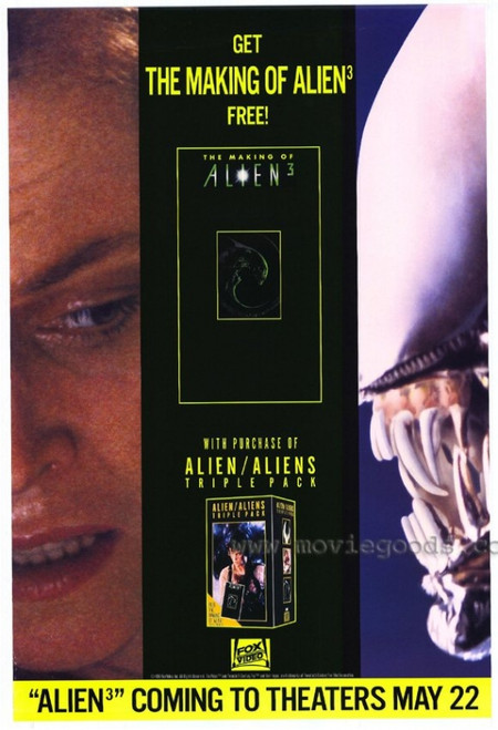 The Making of Alien 3 Movie Poster Print (27 x 40) - Item # MOVEH5653