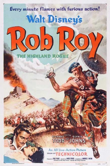 Rob Roy, the Highland Rogue Movie Poster Print (27 x 40) - Item # MOVGB66920