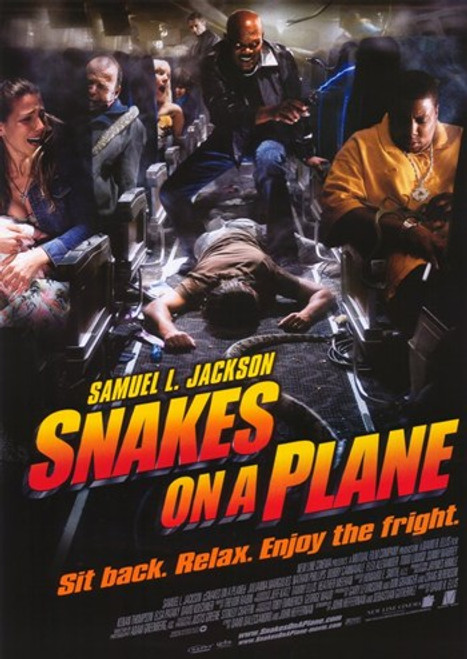 Snakes on a Plane Movie Poster (11 x 17) - Item # MOV378604