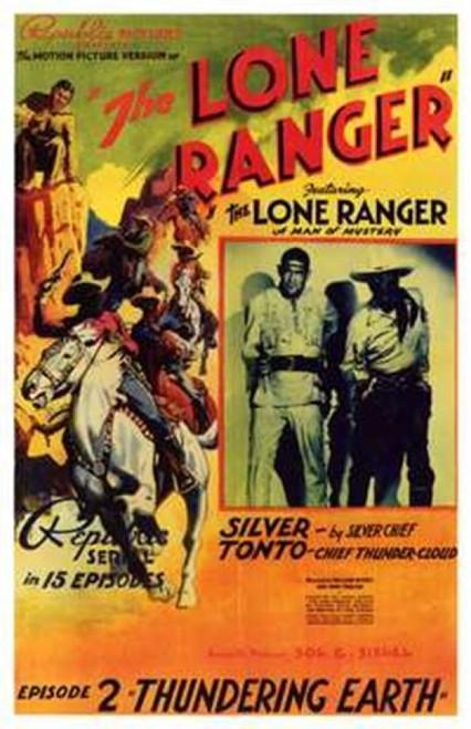The Lone Ranger Movie Poster (11 x 17) - Item # MOV200662
