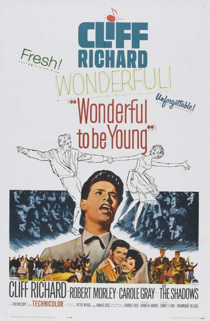 Wonderful to Be Young! Movie Poster Print (27 x 40) - Item # MOVAB13073