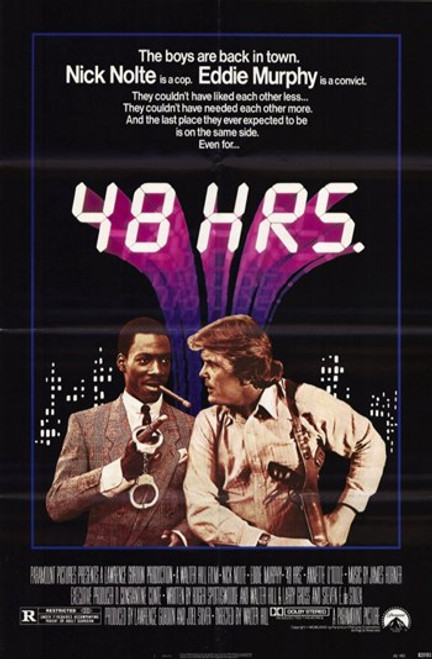 48 Hrs Movie Poster (11 x 17) - Item # MOV192886
