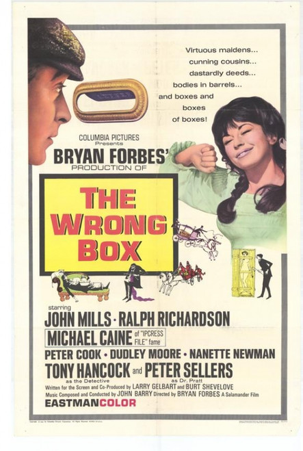 The Wrong Box Movie Poster Print (27 x 40) - Item # MOVEG2718