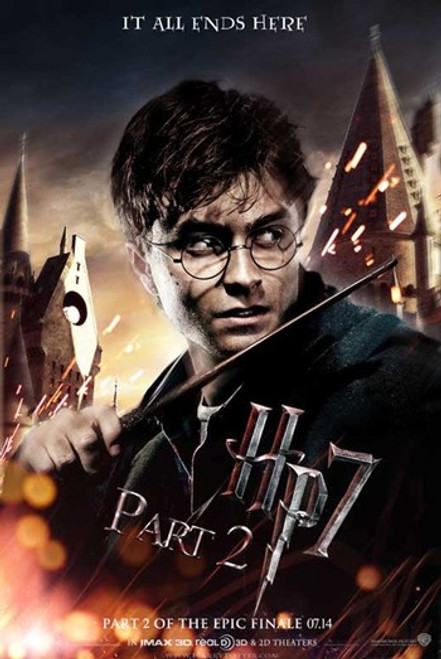 Harry Potter and the Deathly Hallows Part II Movie Poster (11 x 17) - Item # MOVCB83783
